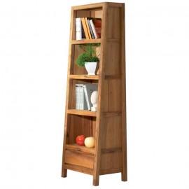Bibliothèque chêne huilé Lodge