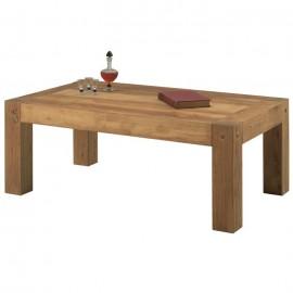 Table de salon rectangulaire chêne huilé Lodge