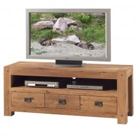 Meuble TV 150 chêne huilé Lodge