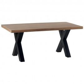 Table de séjour rectangulaire chêne huilé CLEVELAND