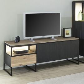 Meuble TV 180cm en mélaminé Portofino