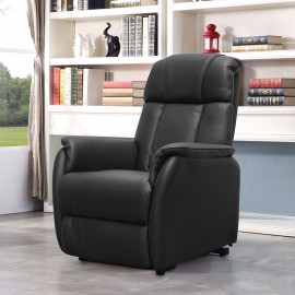 Fauteuil Livourne relax releveur cuir