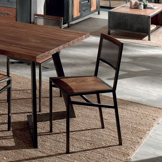 Lot de 2 chaises atelier Talmo