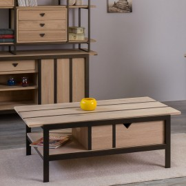 Table basse Varennes finition naturelle